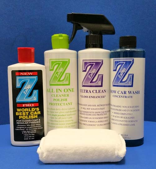 Zaino Daily Driver Protection Package Zainostorecom - Zaino show car polish